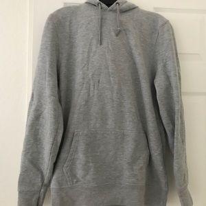River island hoodie sweatshirt in grey